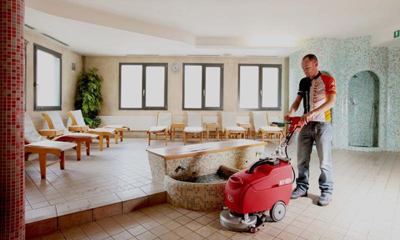 Strojno čiščenje prostorov